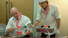 at work (Zuckerschlosser) Tags: art japan training fun sugar patisserie chef pastry sweets zucker konditorei meister patissier konditor konditormeister