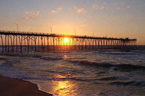 Kure Beach Fishing Pier - Attractions/Entertainment - 100 Atlantic Avenue, Carolina Beach, NC, United States