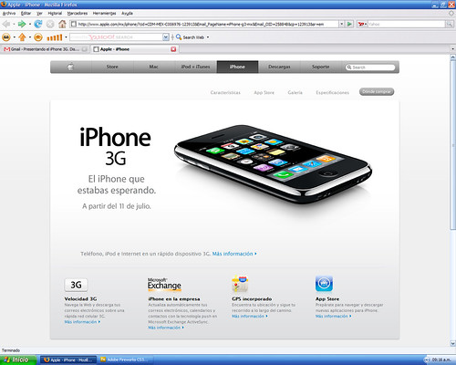 Iphone3G Telcel 02