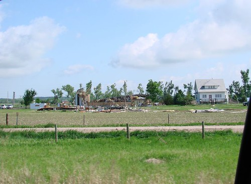 Kearney tornado damage