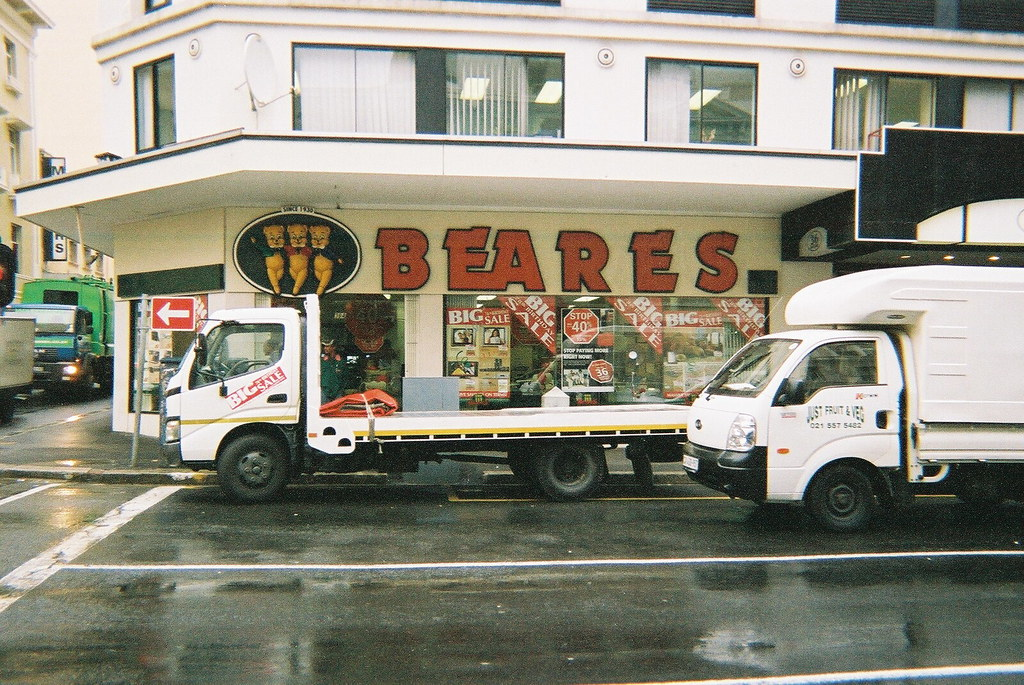 Beares Furniture Store, Long Street, Cape Town (rossvear1) Tags: Africa Bear