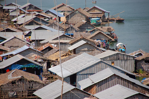 Kompong Cham - Floating Village