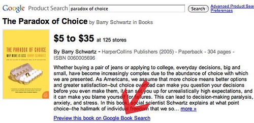 Google Product Search Adds Book Search