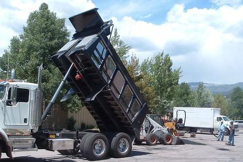 EAGLE on WHEELS (parking lot repair)