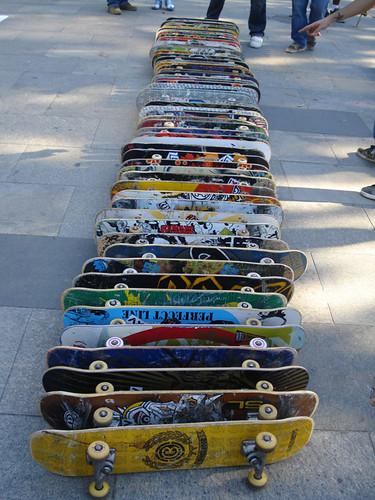 quantos skates você conta aí?