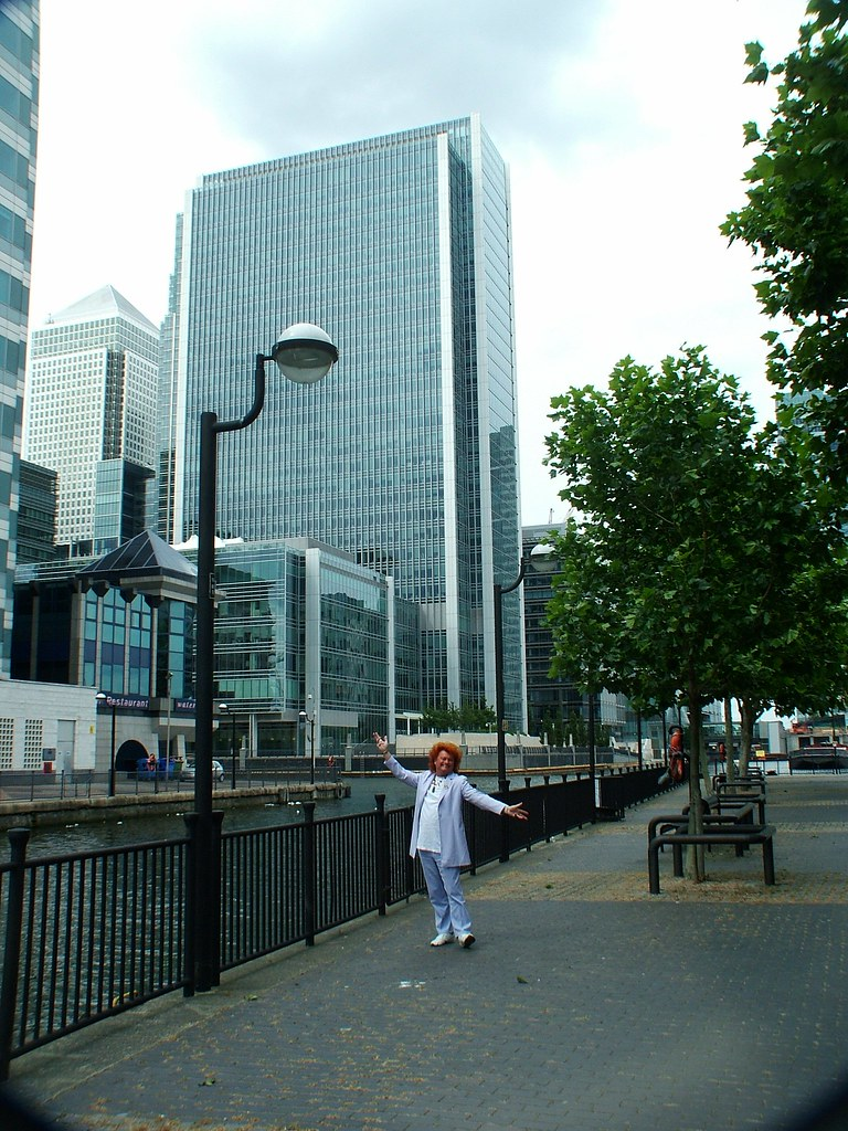 Mystic Ed at magnificent Canary Wharf, London