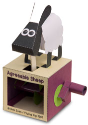 Papercraft Sheep