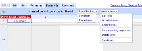Docs Forms