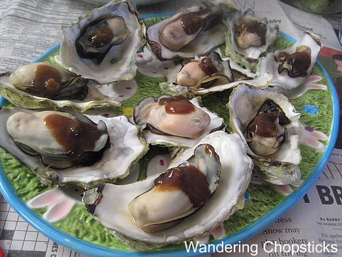 Steamed Oysters with Black Bean Sauce 2