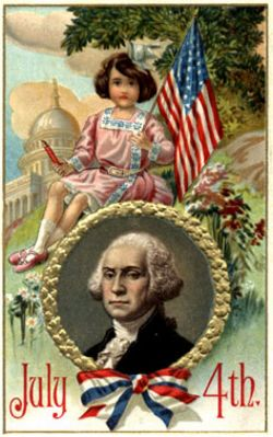 postcard-july-4-george-washington