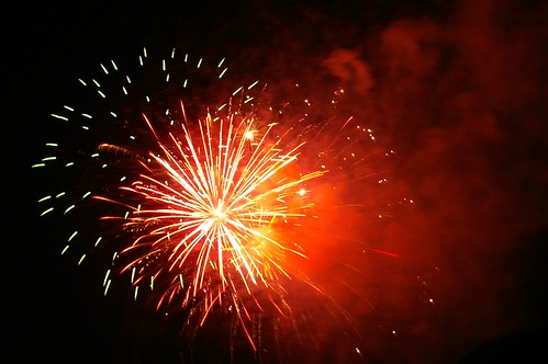 Hermann Park Fireworks 4
