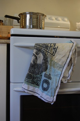 money towel