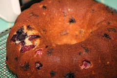 Berry-Lemon Bundt Cake (Everyday Food)