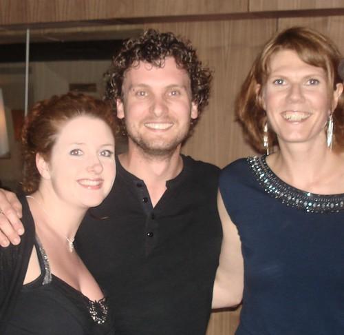 Lottie, Darren and Juliet Tunrer