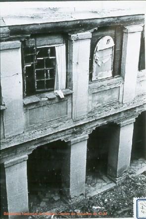 Destrozos en el Convento d ela Concepción, Toledo, en la Guerra Civil