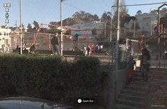 Playground in Google Street View, San Francisco