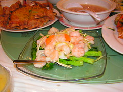 Dragon Court -- Shrimp and Chinese Broccoli