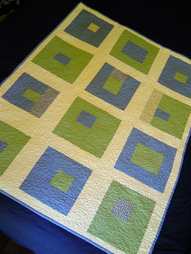 What a Bunch of Squares Baby Quilt