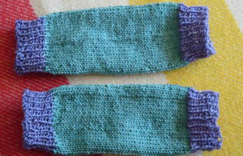 Grad School Knitter Baby Leg Warmers