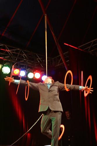 french ring + stick juggler