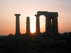 Ruins in Corinth (ndj5) Tags: sunrise ruins roman corinth greece ndj5