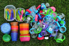 Our sippies had BPA but the rest of the stuff checked out ok
