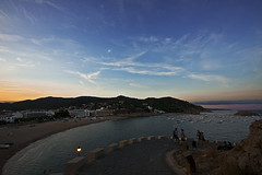 Tossa de mar (david A.F Photography) Tags: sunset espaa atardecer europa europe colores girona catalunya costabrava catalua tossademar emporda espanya sigma1020mm canoneos40d davidafphotography