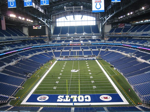 The Field at Lucas Oil Stadium - GO COLTS!