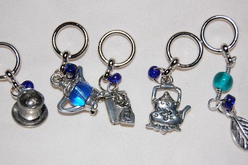 Tea Stitch Markers