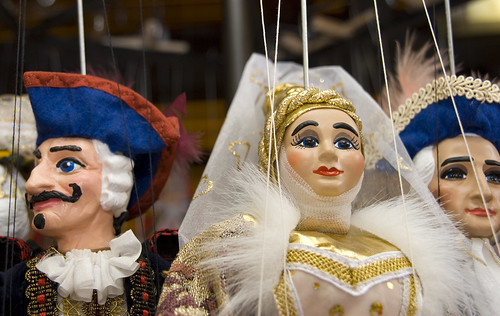 Puppets in Prague by Alida's Photos