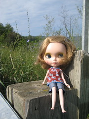 Blythe at the side of the highway