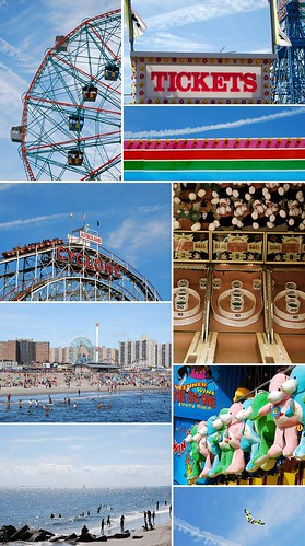 Coney Island Collage