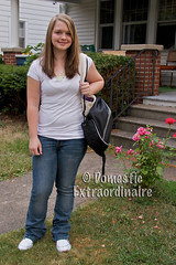 Giggles 1st day of 8th grade