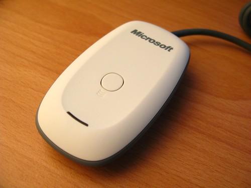 Xbox 360™ Windows® 專用無線遊戲接收器