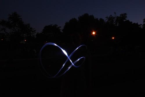 I'm writing with light