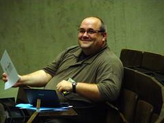 Jens Grochtdreis moderiert die Lightning Talks beim WKE - Offizielle Version