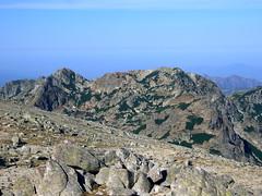 La Punta Alla Vetta depuis le Renoso...