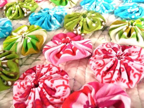 Fabric YoYos