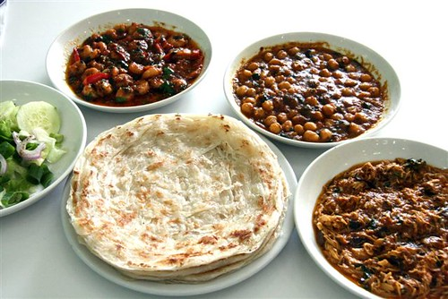 a plethora of Indian dishes
