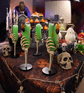 halloween skeleton cups