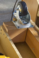 Heavy Duty Locking Casters For Portability
