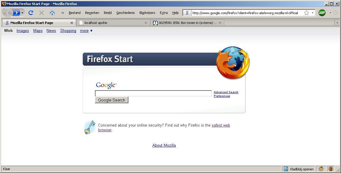 Image Result For Change Mozilla Start