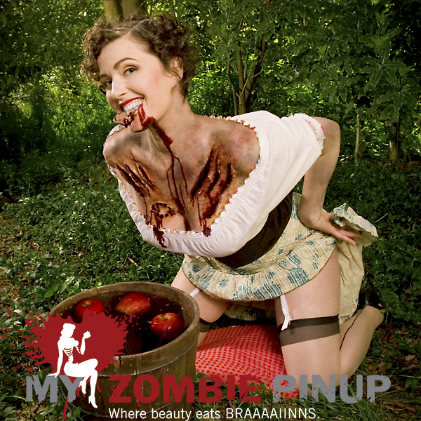 My Zombie Pin-up 2009 Calendar
