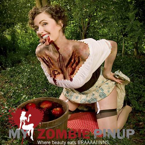 My ZOmbie Pin up Calendar | April / Shålaco
