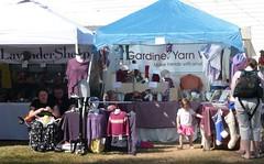 Gardiner Yarn Works & Lavender Sheep