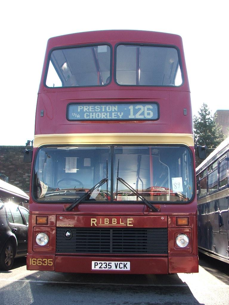 Volvo olympian 16635 Chorley