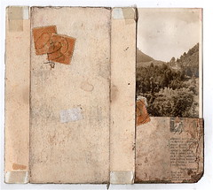(dailypoetics) Tags: art collage vintage paper antique ephemera photograph