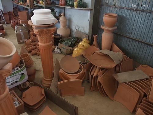 Objectos decorativos de exterior