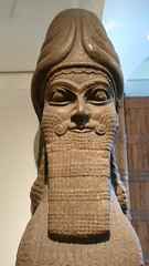 The British Museum (Nevica) Tags: london statue britishmuseum nimrud northerniraq ashurnasirpalii