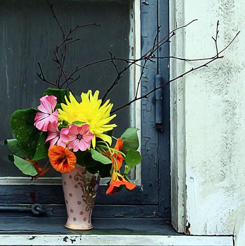 De sista blommorna